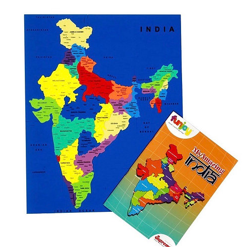My India Map Puzzle