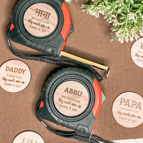 Father's Day Hammer & Measuring Tape Gift Set