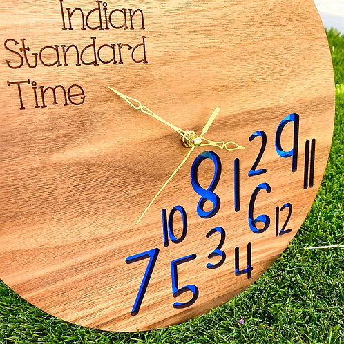 Indian Standard Time Clock