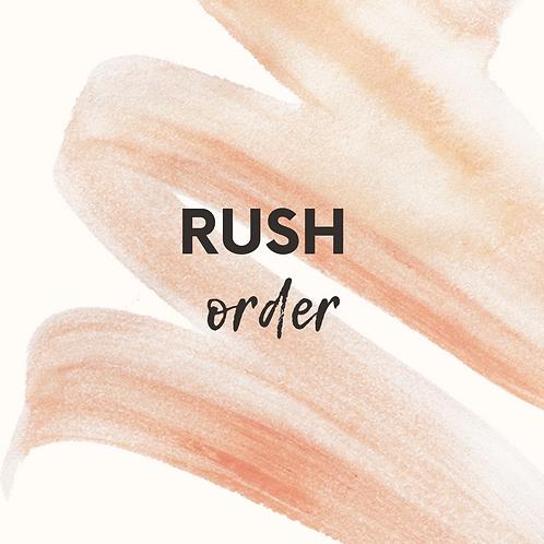Rush Order Processing