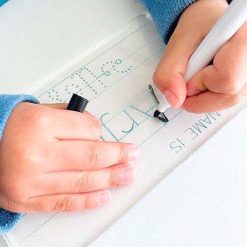 Dry Erase Bilingual Name Tracing Board