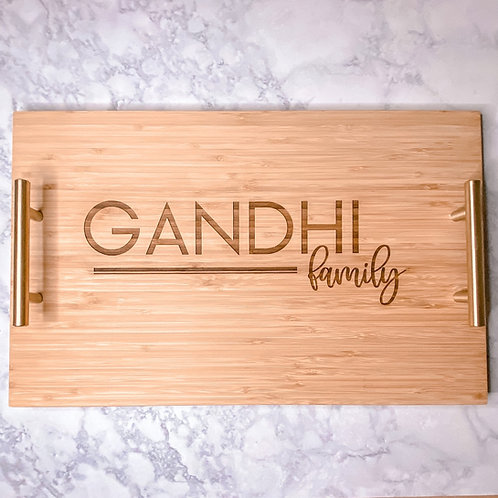 Personalized Wooden Tray