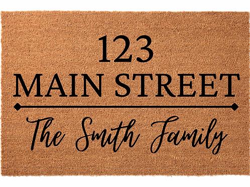 Family Name Address