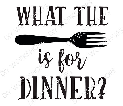 What the Fork is for Dinner?