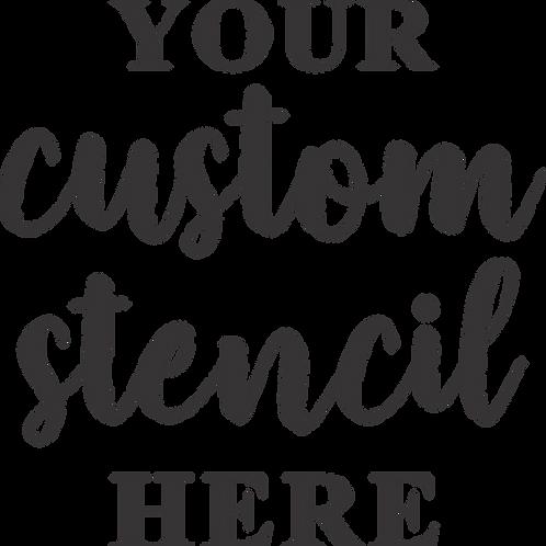 Create a custom stencil!