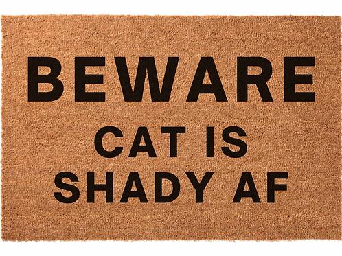 Beware Shady Cat