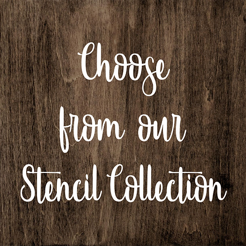 Sign Kit- Choose From Our Collection!