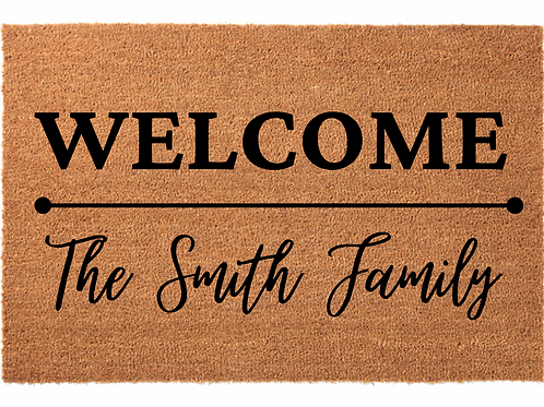 Welcome Family Name