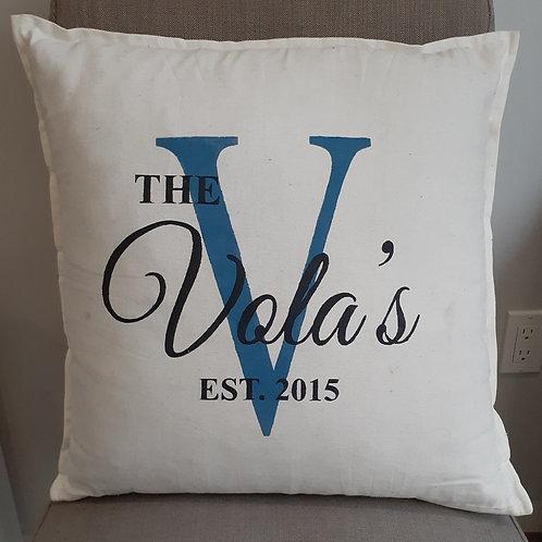 Pillow Kit- Family Name