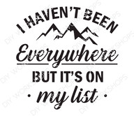 But It's On My List