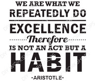 What We Repeatedly Do