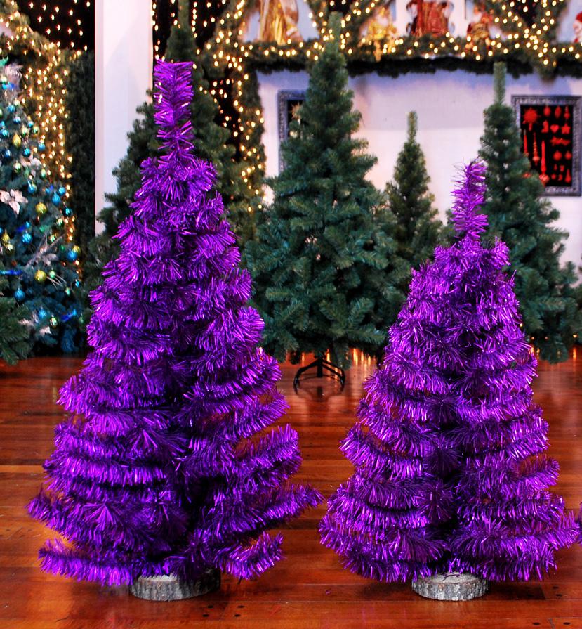 Mini Pinos XL Violeta Satinado