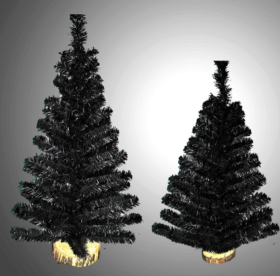 Mini Pinos XL Negros Maitén
