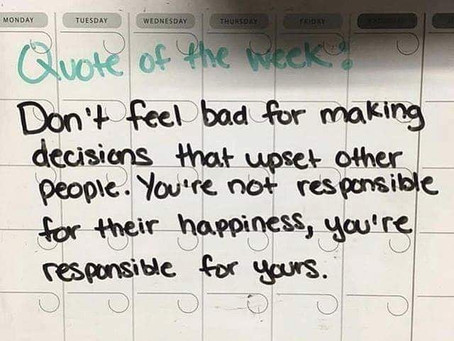 You'll never make everyone happy. And that's okay.