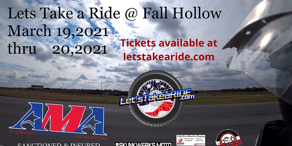Let's Take A Ride @ Fall Hollow