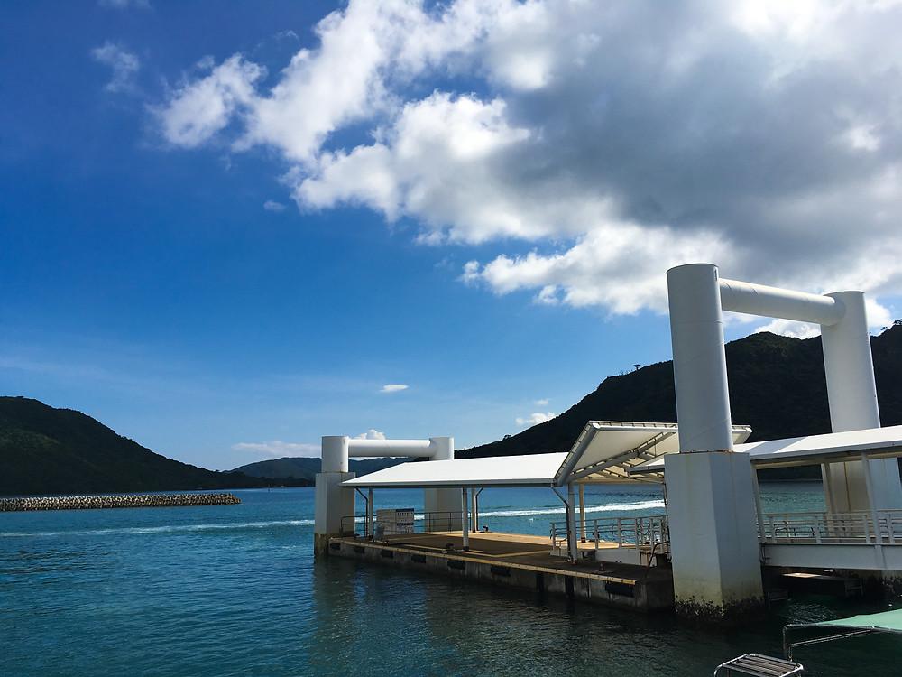 西表島 ドライブ レンタカー 白浜港