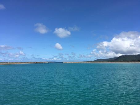 西表島上原港