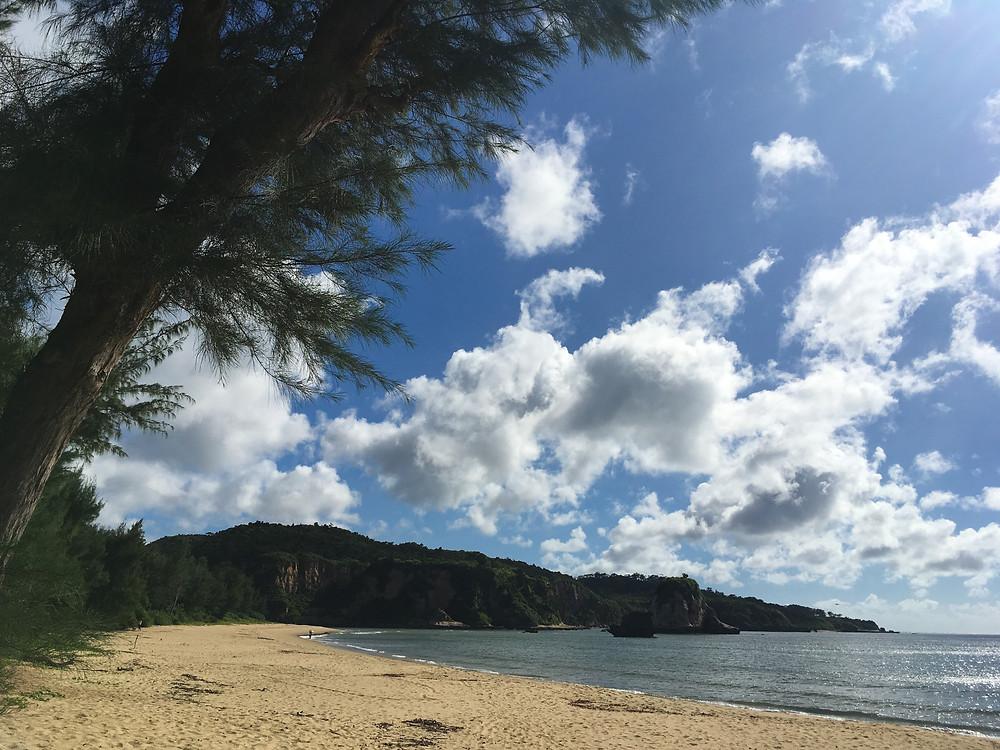 西表島 ビーチ トゥドゥマリの浜