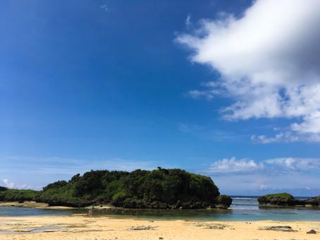 西表島のビーチ