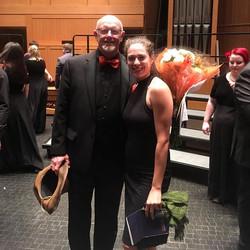 Tonight was the last choir concert Dr