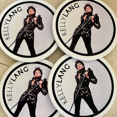 Kelly Lang In The Circle Coasters