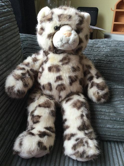 Build a bear Leopard cat soft toy