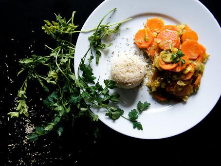 Rüebli-Lauch Gemüse