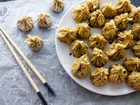 Kürbis Dumplings
