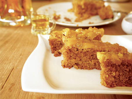 Pineapple Blondies