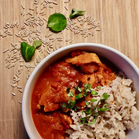 Planted Chicken in pikanter Tomatensauce