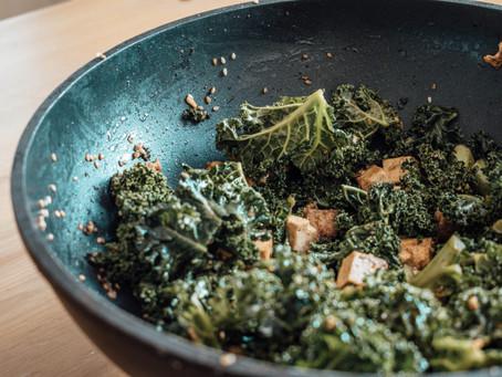 Tofu & Kale Salad