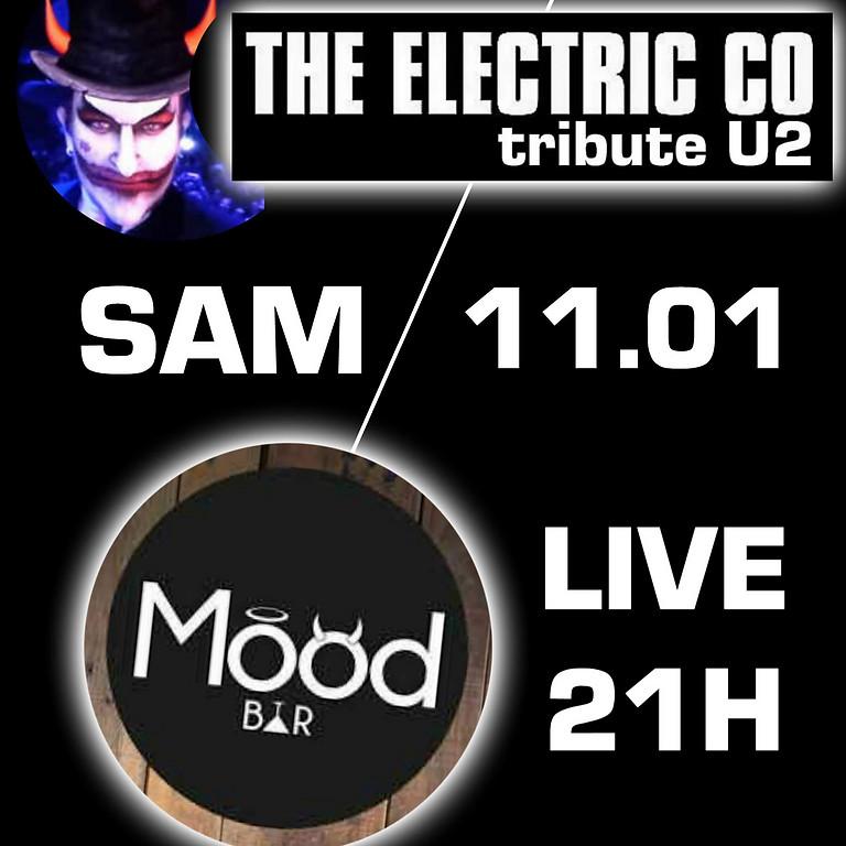 THE ELECTRIC CO Tribute //U2 Live au Mood Bar