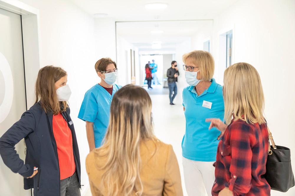 Neueröffnung des Schmerzzentrums am Kunstmuseum Basel