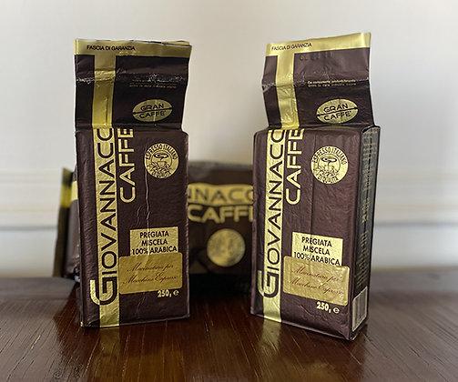 Caffé Italiano 100% arabica - 250 gr MOULU (MACINATO)
