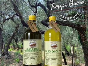 Fabrication de notre huile d'olive extra vierge DOP