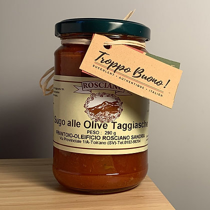 Sugo alle Olive Taggiasche 290g