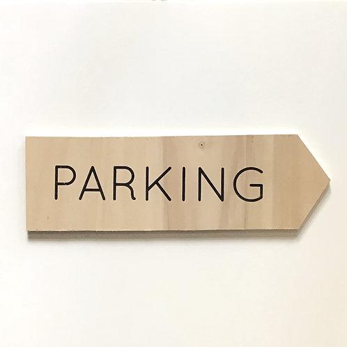 Flèche parking 2