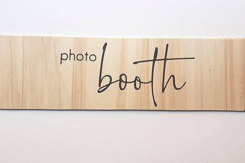 Panneau Photo Booth 1