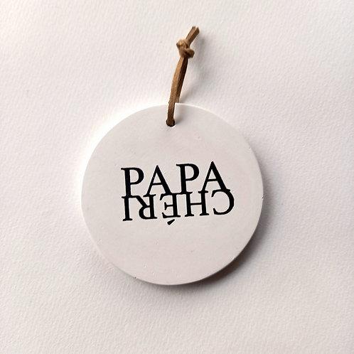 Médaillon papa chéri