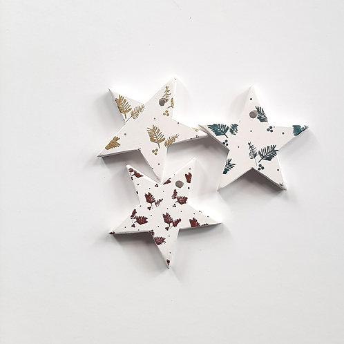 3 étoiles à suspendre