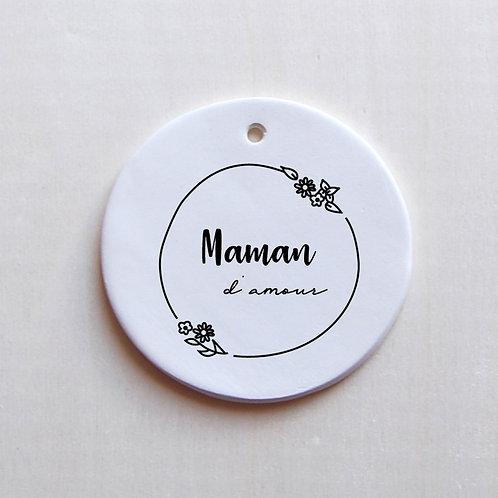 Médaillon Maman d'amour - PRO