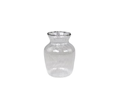Vase avec dorure