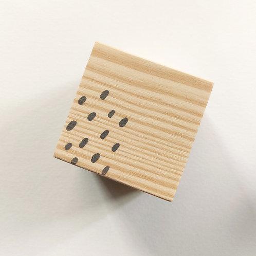 Portes-cartes cube goutte