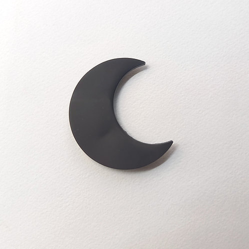 Bijou Mural aimanté lune noire
