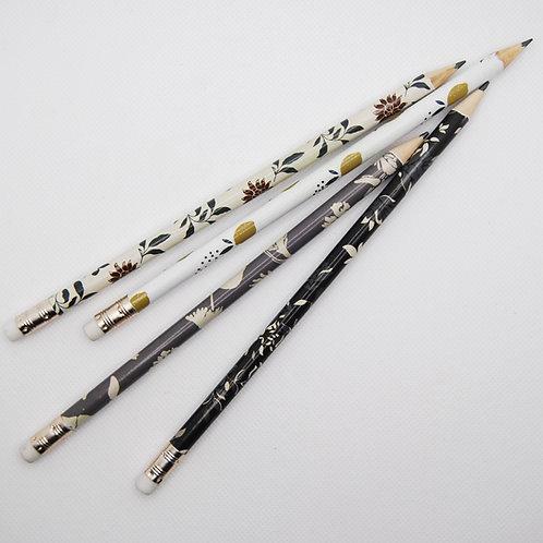 Lot de 4 Crayons à papier