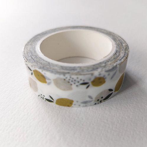 Masking tape citron