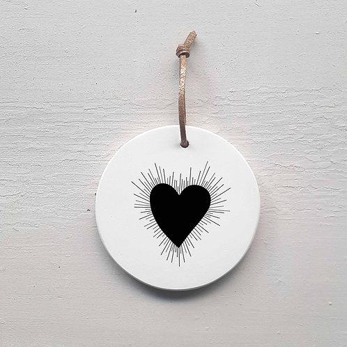 P-Médaillon coeur