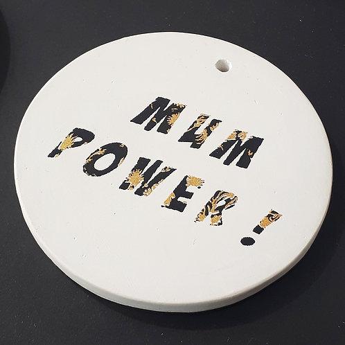 Médaillon Mum Power