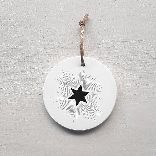 Médaillon étoile