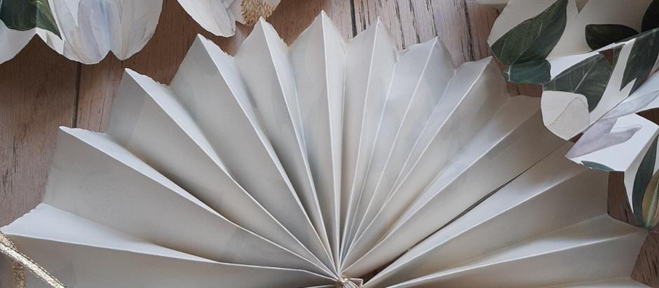 Rosace en papier